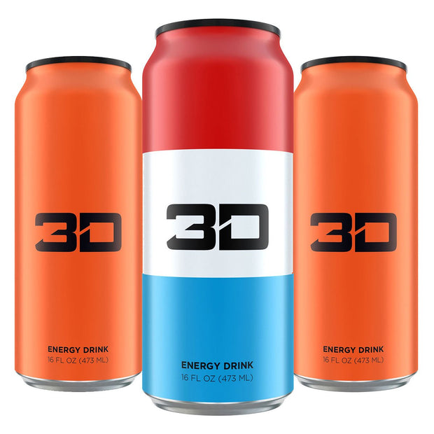3D Energy Drink Christian Guzman
