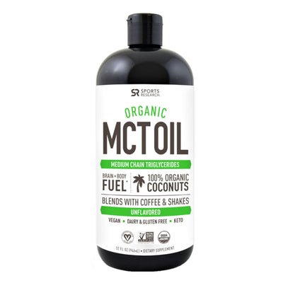 Sports Research MCT Oil organic