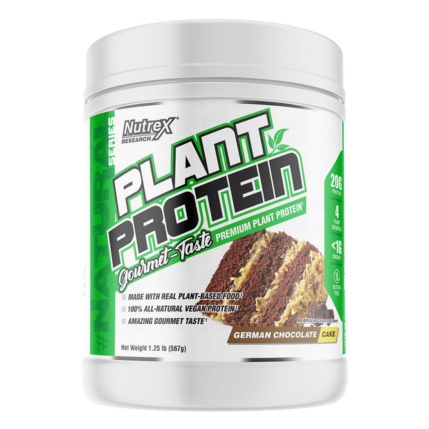 Nutrex Plant Protein German Chocolate Cake