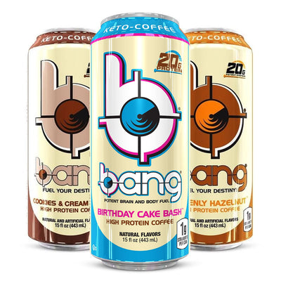 Bang Keto Coffee Birthday Cake Bash