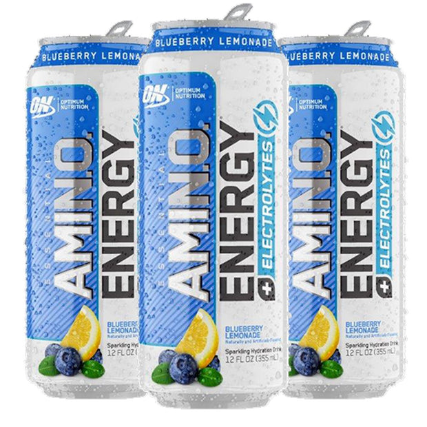 Optimum Nutrition Amino Energy Sparkling Carbonated Blueberry Lemonade