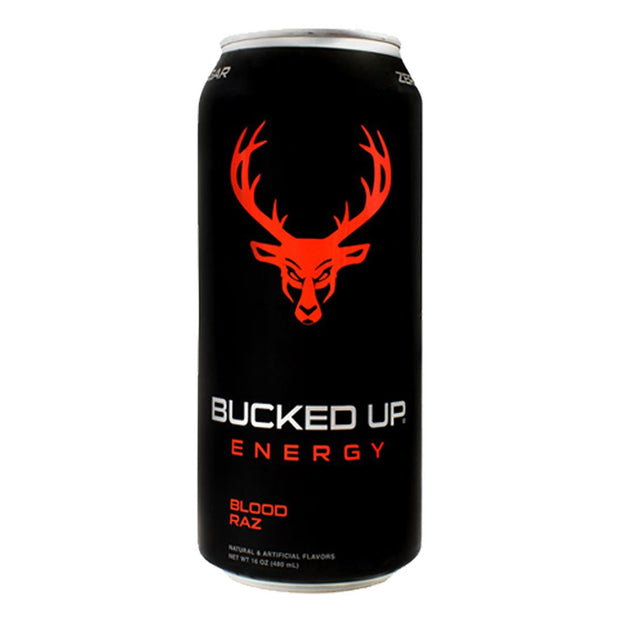 BuckedUP Energy Drink Blood Raz