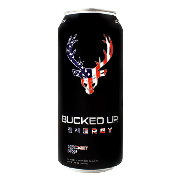 BuckedUP Energy Drink Rocket Pop