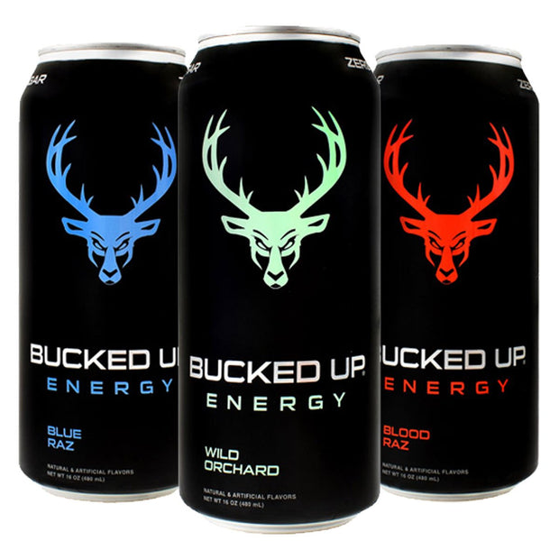 BuckedUP Energy Drink