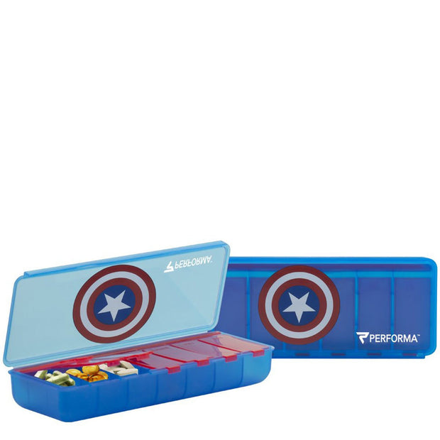 Proforma Perfect Shaker 7 Day Pill Case Captain America