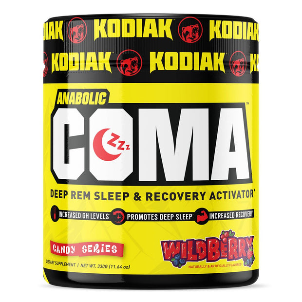 Kodiak Supplements Anabolic Coma Sleep Supplement WildBerry