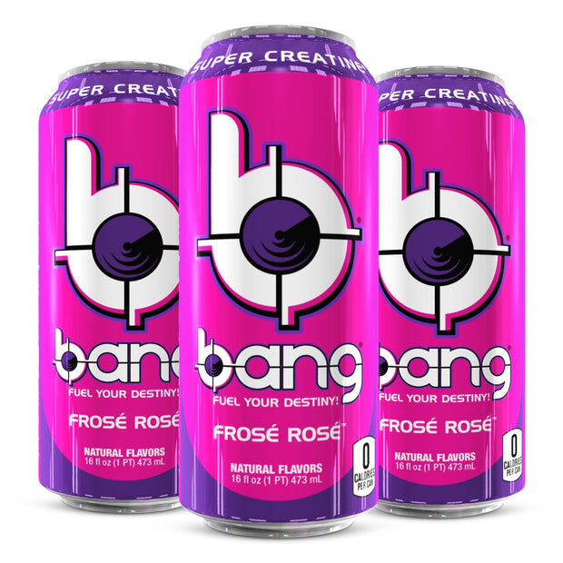 VPx Sports BANG Energy Drink Frosè Rosè