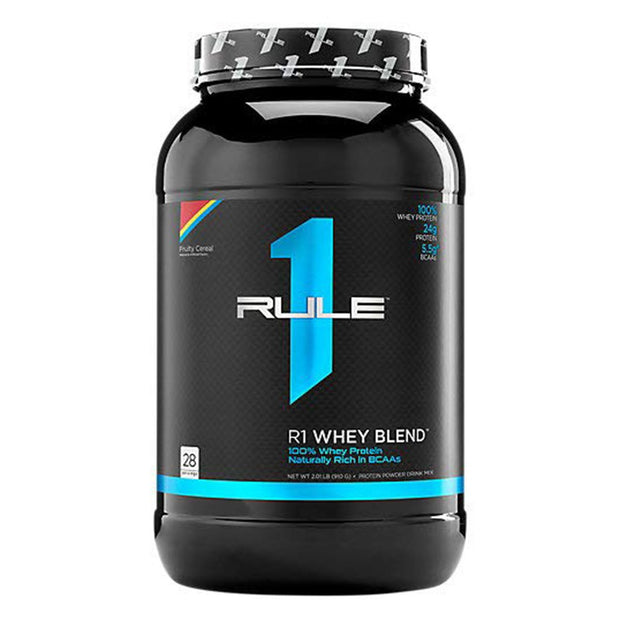 Rule1 R1 Whey Blend Fruity Cereal Protein