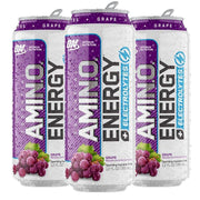 Optimum Nutrition Amino Energy Sparkling Carbonated Grape