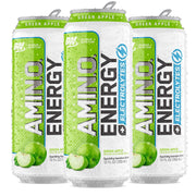 Optimum Nutrition Amino Energy Sparkling Carbonated Green Apple