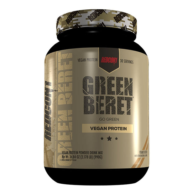 Redcon1 Green Beret Vegan Protein Peanut Butter