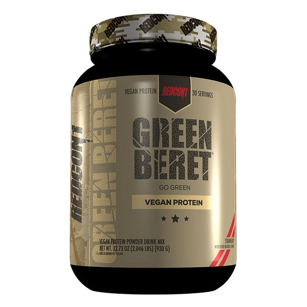 Redcon1 Green Beret Vegan Protein Strawberry