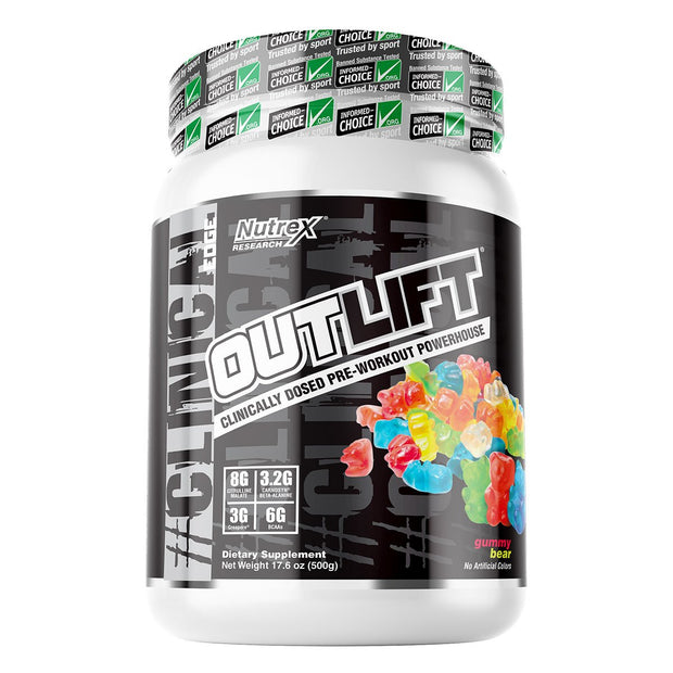 Nutrex Outlift Pre Workout Gummy Bear