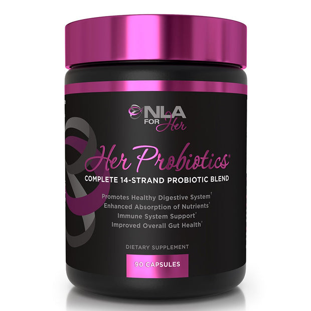 Her Probiotic by NLA for Her Female Supplements