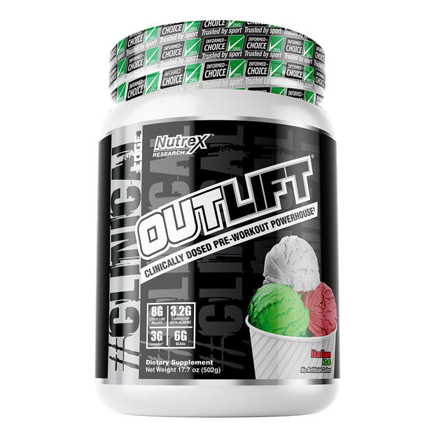 Nutrex Outlift Pre Workout Italian Ice