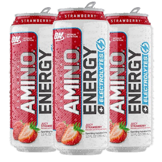 Optimum Nutrition Amino Energy Sparkling Carbonated Strawberry
