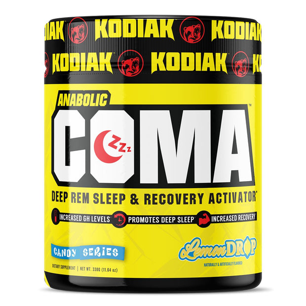 Kodiak Supplements Anabolic Coma Sleep Supplement Lemon Drop