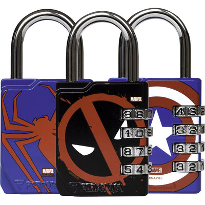 Marvel Superhero Gym Locks Perfectshaker Proforma