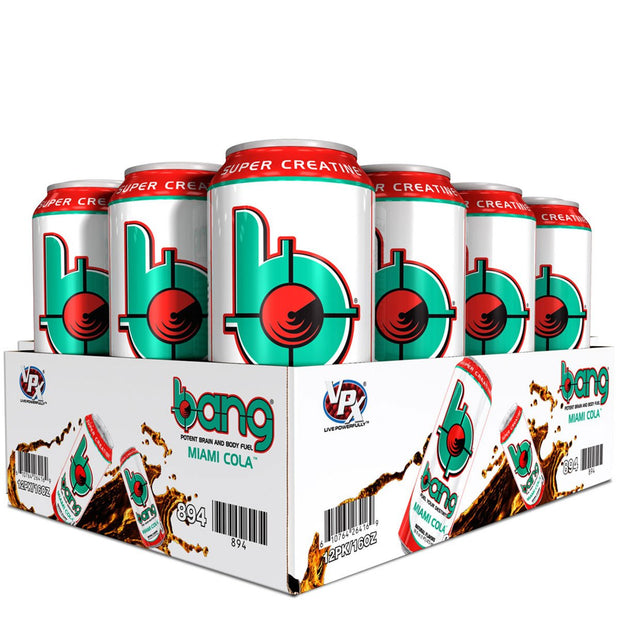 BANG Energy Drink Miami Cola Flavor