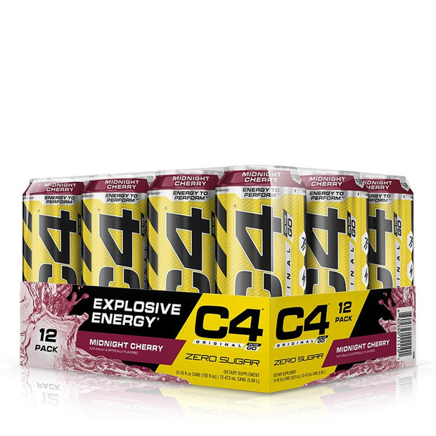Cellucor C4 Original Carbonated Midnight Cherry