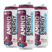 Optimum Nutrition Amino Energy Sparkling Carbonated Mixed Berry Sangria