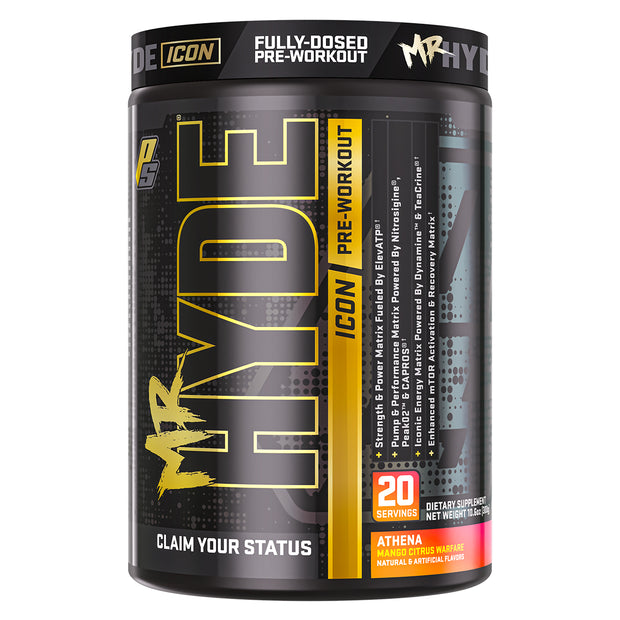 Pro Supps Mr Hyde Icon Pre Workout Athena Mango Citrus