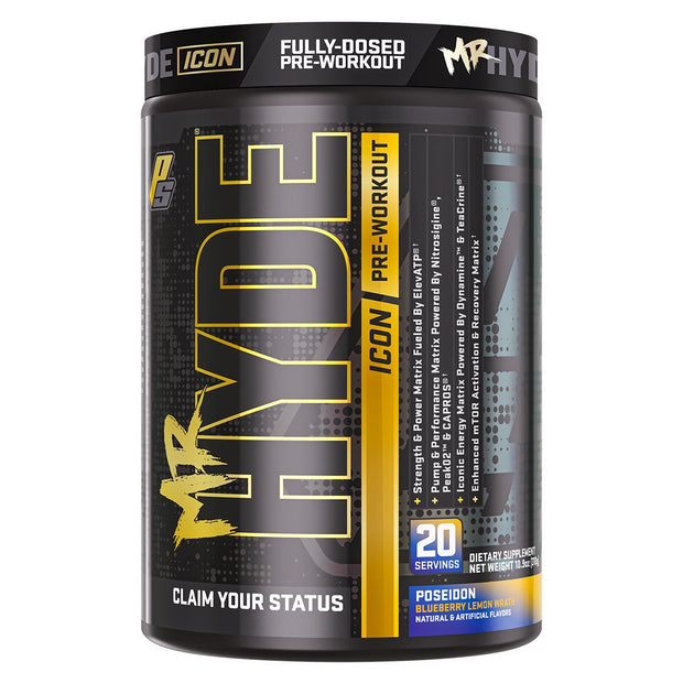 Pro Supps Mr Hyde Icon Pre Workout POSEIDON Blueberry Lemon
