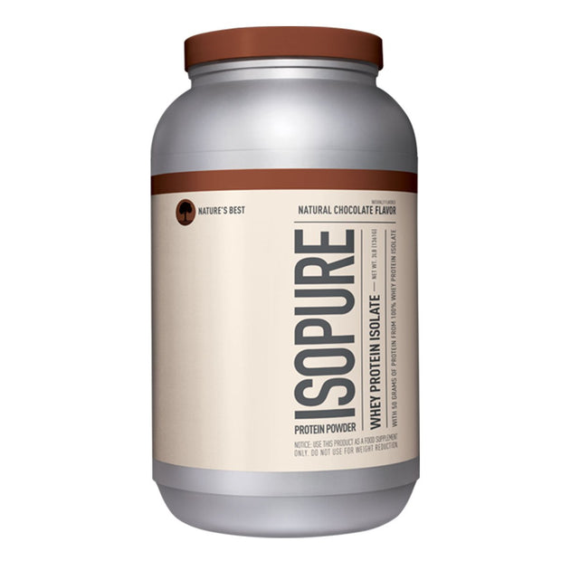 ISOPURE Whey Protein Naturally Flavored Chocolate