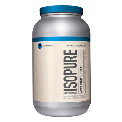 ISOPURE Whey Protein Naturally Flavored Vanilla