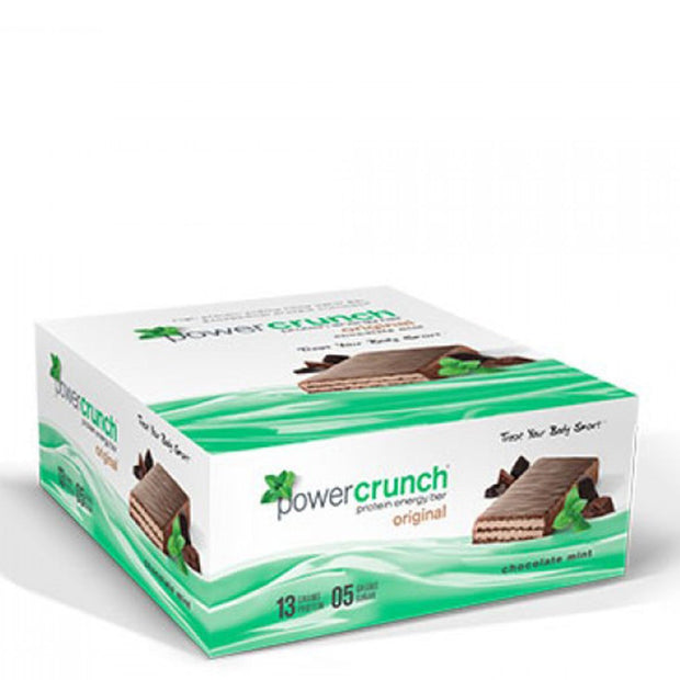 Power Crunch Chocolate Mint Bars