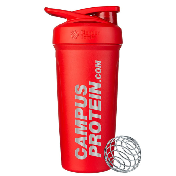 campus protein metal blender bottle shaker