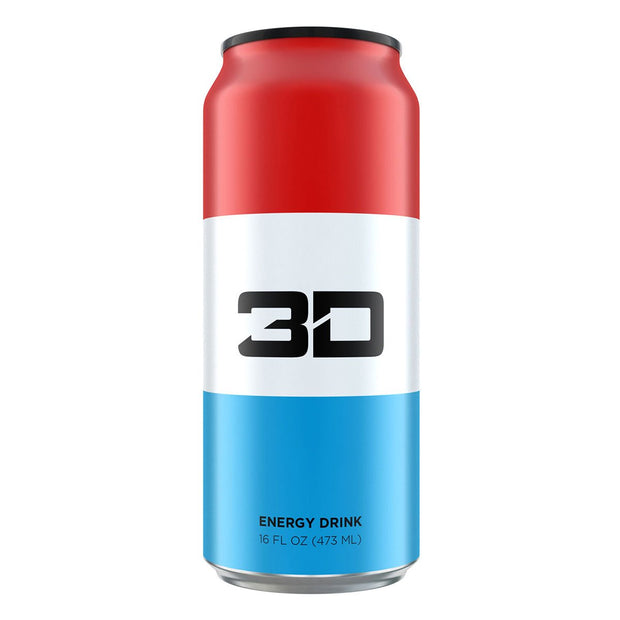 3D Energy Drink Freedom Pop Christian Guzman