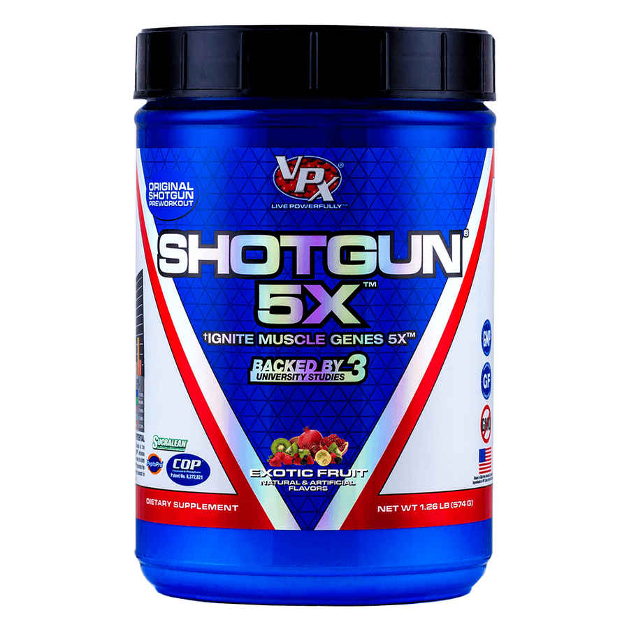 VPX Shotgun Pre Workout Exotic Fruit