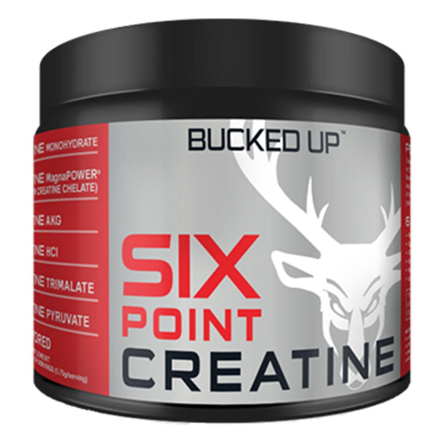 BuckedUP Six Point Creatine