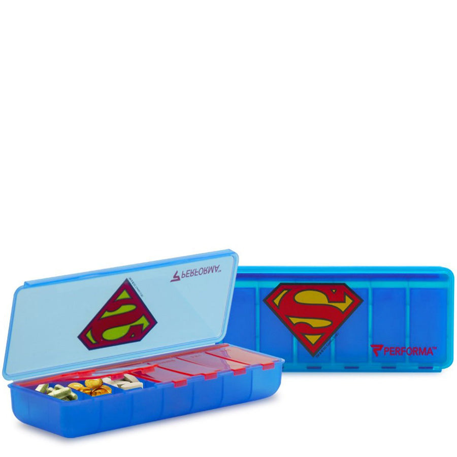 Proforma Perfect Shaker 7 Day Pill Case Superman