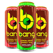 VPx BANG Energy Drink Sweet Tea Flavors