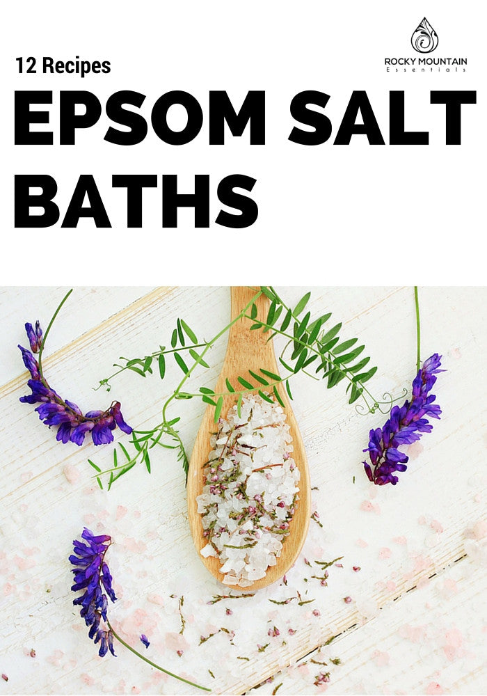 DIY Detox Epsom Salt Bath
