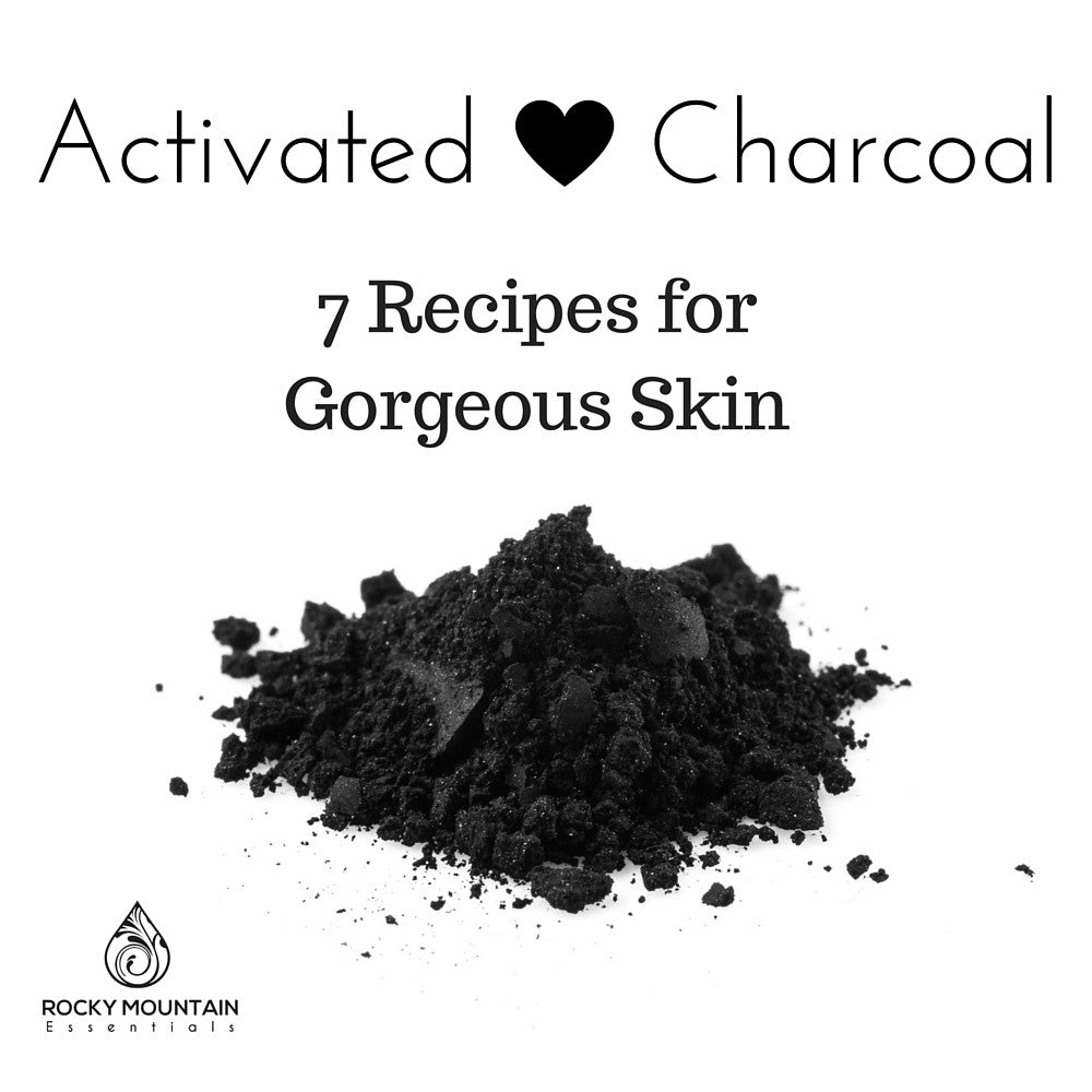 Activated Charcoal For Skincare