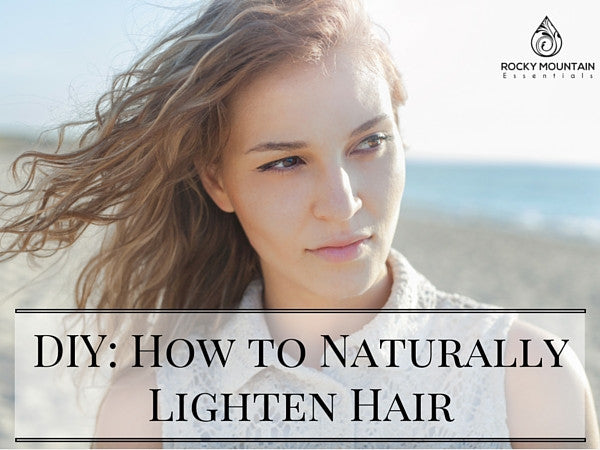 How to Naturally Lighten Hair: 9 DIY Recipes From The Nature