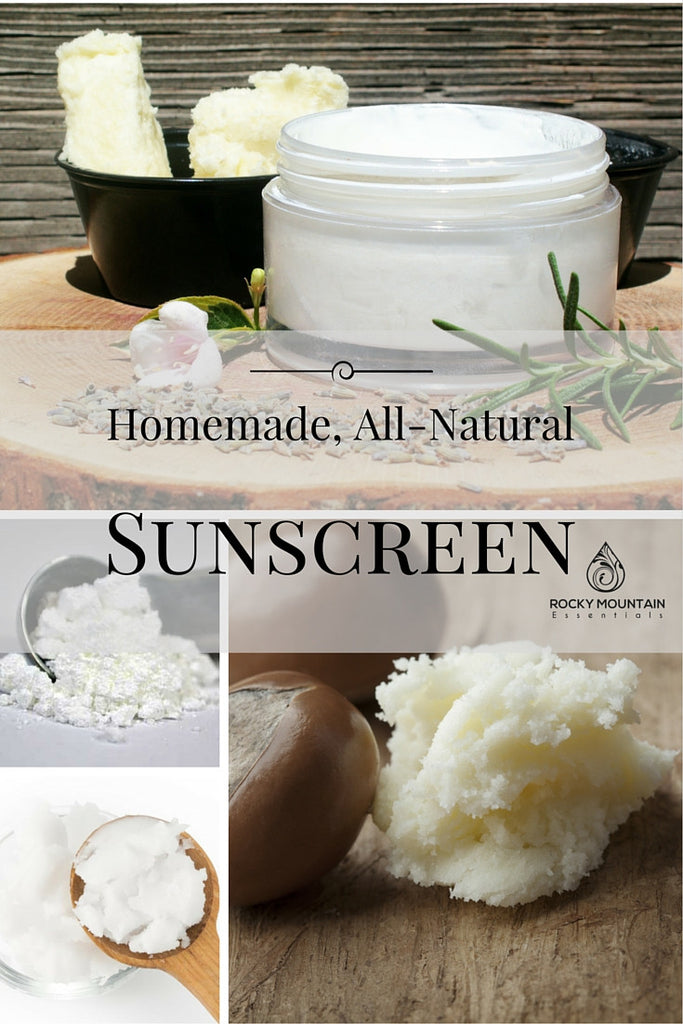 DIY All-Natural Sunscreen