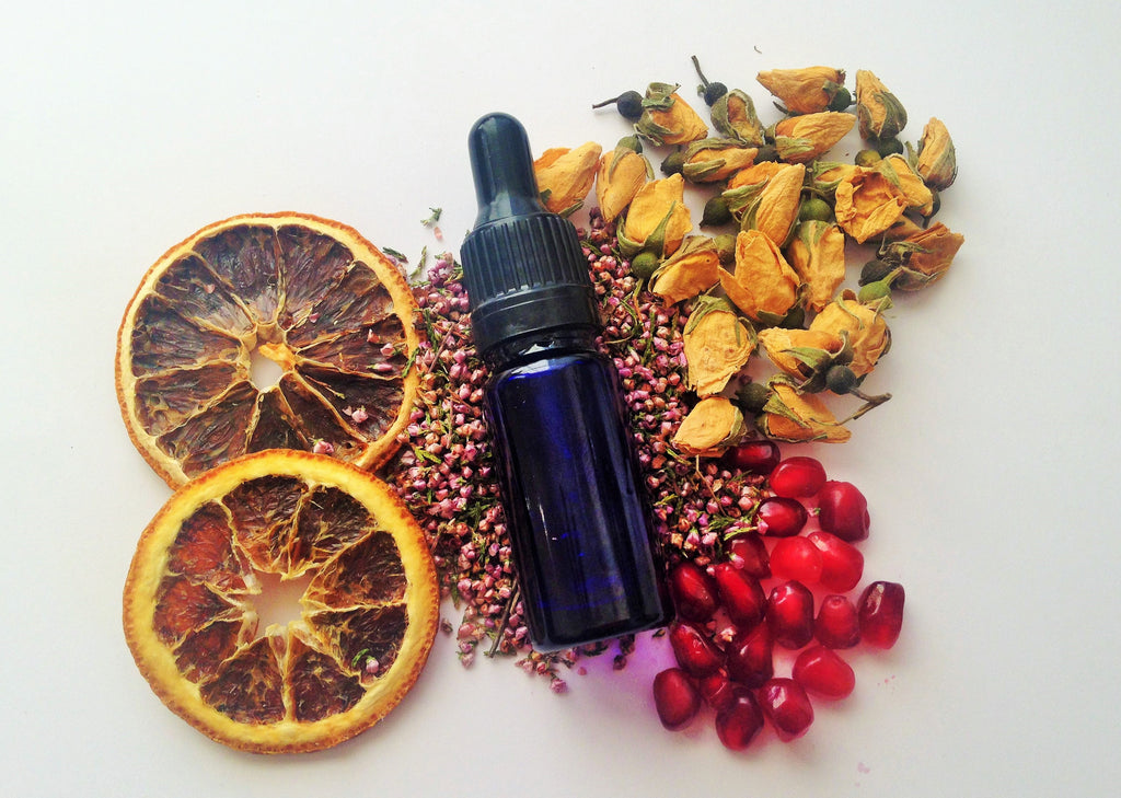 DIY Midnight Facial Hydrating Serum with Pomegranate Oil