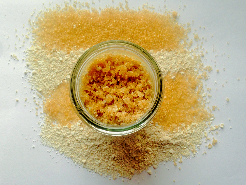 DIY Homemade Holiday Body Scrubs