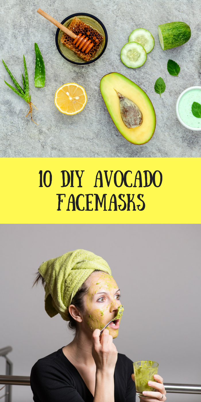10 DIY Avocado Face Mask
