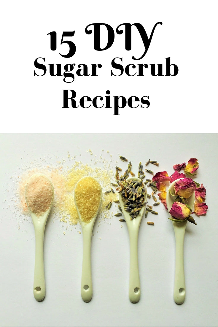 15 DIY Sugar Scrub Recipes