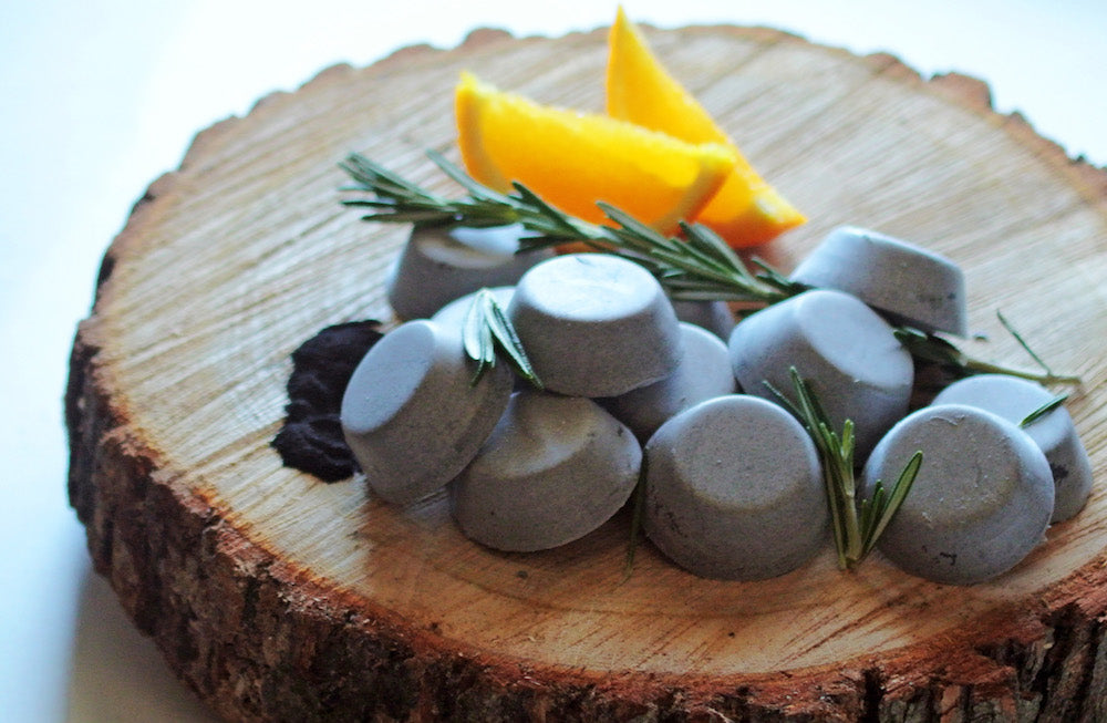 DIY Orange Activated Charcoal Soap