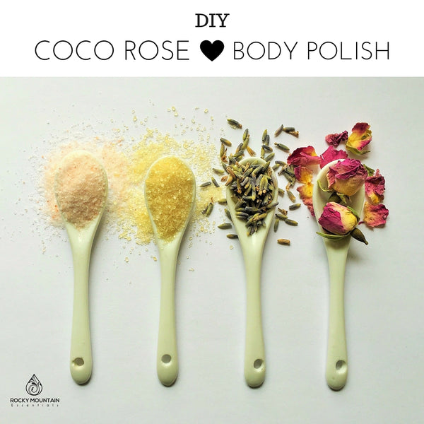 DIY coco rose body polish