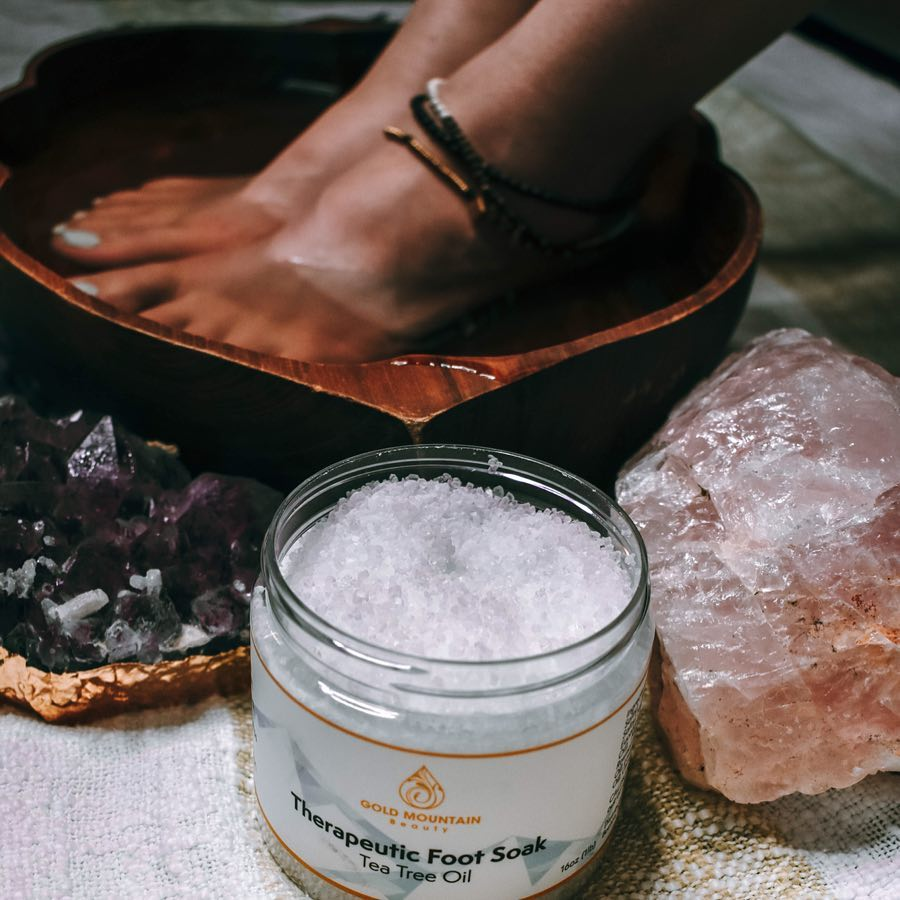 Essential Oil Foot Soak
