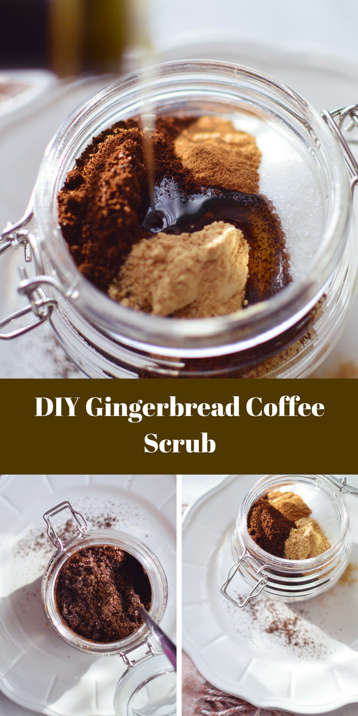 DIY Gingerbread Coffee Scrub for The Body