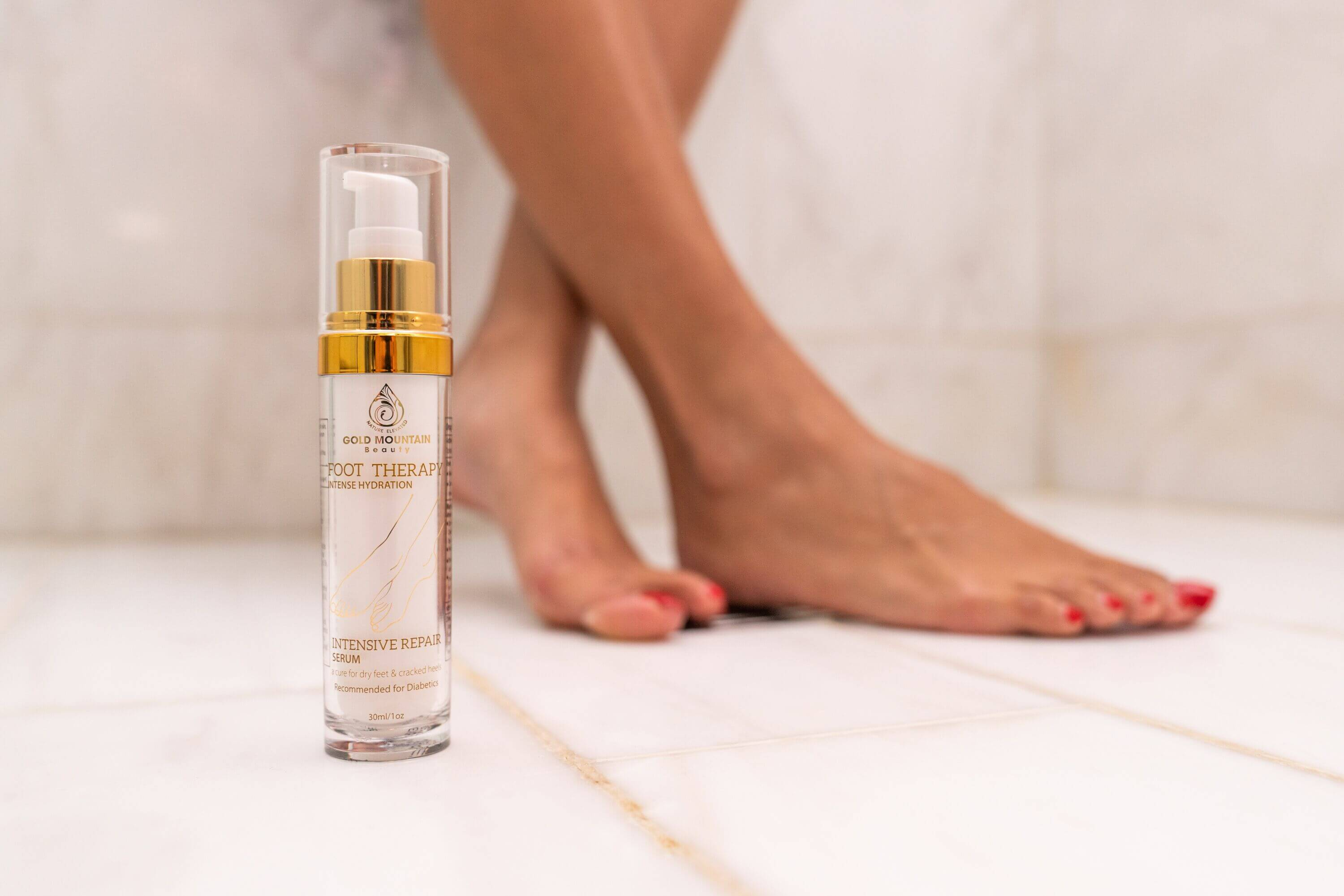 Moisturize Regularly With Foot Cream