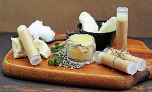Ingredients for Homemade Lip Balm